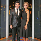 Lacking valour: Rory McIlroy, pictured with fiancee Erica Stoll, has pulled out of Rio due to fears about the Zika virus