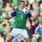 In demand: Jonny Evans' form at Euro 2016 has alerted Arsene Wenger
