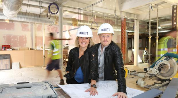 Petra and Conall Wolsey reveal plans for the highly anticipated launch of the new £4million Bullitt Hotel. Picture by Darren Kidd, Press Eye.