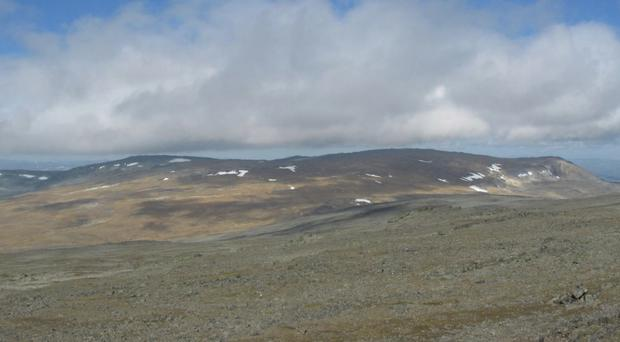 Finland could be in line for a new mountain. Pic Halti som jubileumsgave Facebook campaign