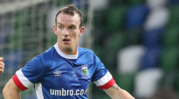 Loan ranger: David Kee has joined Coleraine on a season-long loan