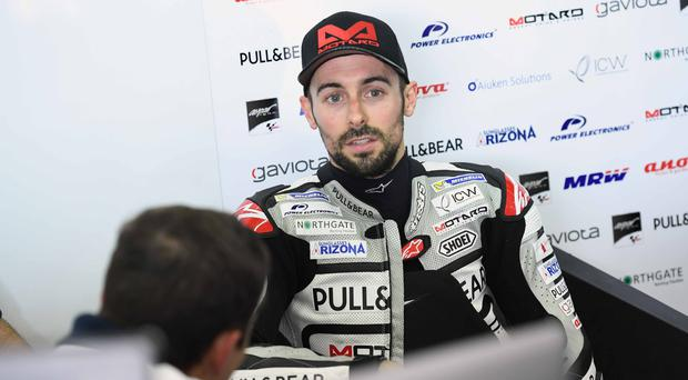 Toomebridge rider Eugene Laverty has climbed the racing ladder since the age of 14