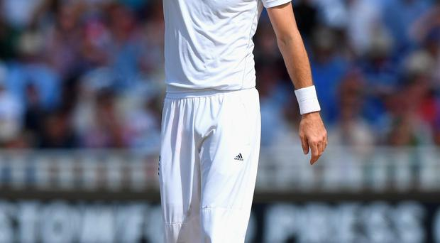 Apology: James Anderson said his behaviour was out of order
