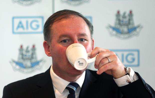 Drinking it in: Jim Gavin is reaping the benefit of backroom changes
