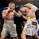 Big hitters: Carl Frampton and Leo Santa Cruz could meet again this year