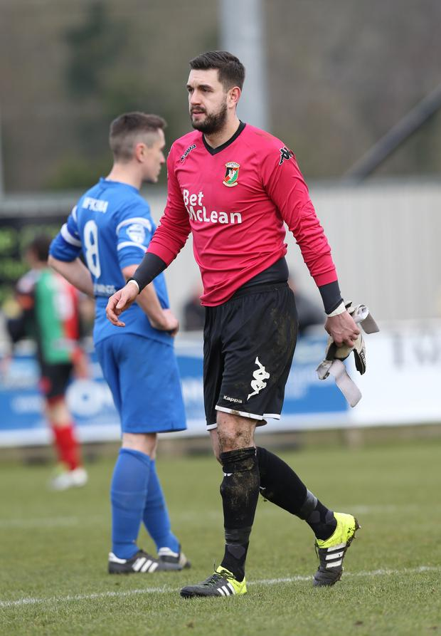 Fresh start: Aaron Hogg was relieved to move on from Glentoran