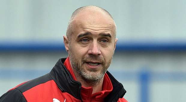 Renewed belief: Gerard Lyttle says Cliftonville are raring to go