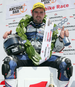 Driving force: Michael Dunlop adds a four wheel win to his collection