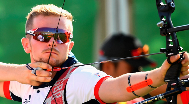 Off Target: Patrick Huston was left frustrated but says best is yet to come