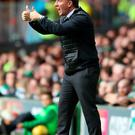 Big draw: Brendan Rodgers says Celtic alone tempted him to Scotland