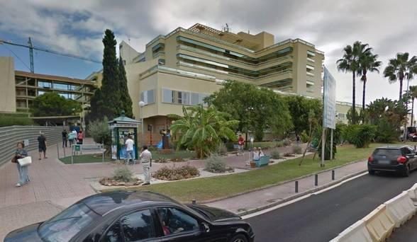 Irishman was taken to Marbellas Costa del Sol hospita