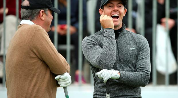 Rory has had the last laugh with his response.