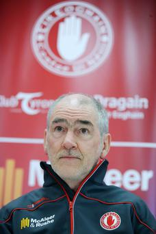 Frustration: Mickey Harte