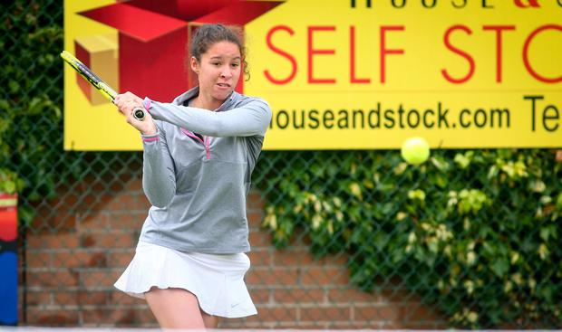 Send-off: Lucy Octave is heading to college in the United States