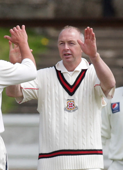 Top form: Decker Curry took two wickets at the weekend