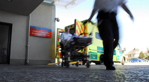 Second man suffered serious injuries and was transferred by ambulance to Cork University Hospital [File photo]