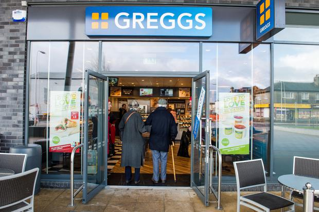 The arrival of bakery chain Greggs in Northern Ireland has been closely monitored