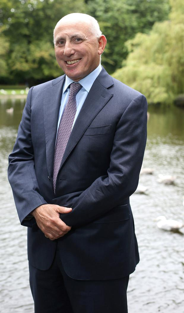 Michael Carvill, managing director of Kenmare Resources PLC