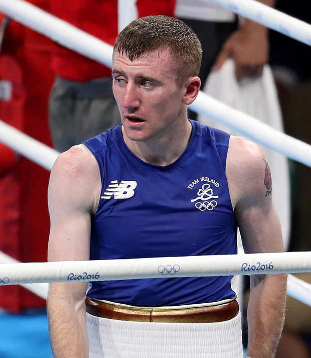Paddy Barnes can't hide his disappointment