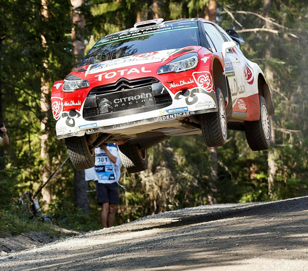 Sour grapes: Kris Meeke's World Championship wins this season have upset Volkswagen boss Jost Capito.
