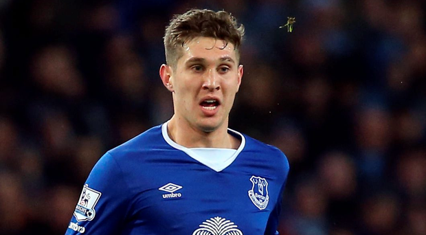 Record breaker: John Stones is now the most expensive British defender