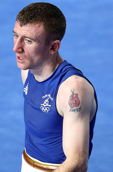 New chapter: Paddy Barnes