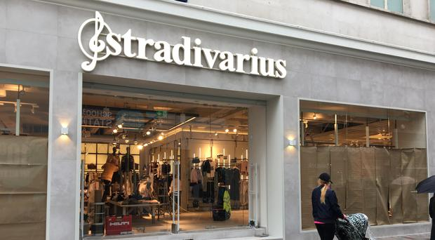 The new Stradivarius store in Belfast