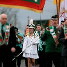 AOH on parade on St Patrick's Day in Maghera