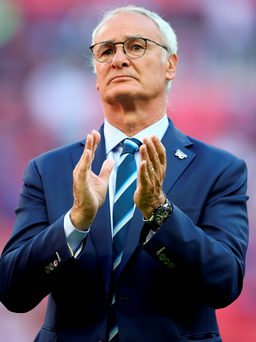 Signed up: Claudio Ranieri has penned a new four-year deal