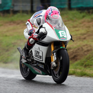 No go: Lee Johnston suffered a broken collarbone after a crash in Ulster GP practice