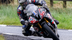 Leading the way: Michael Dunlop