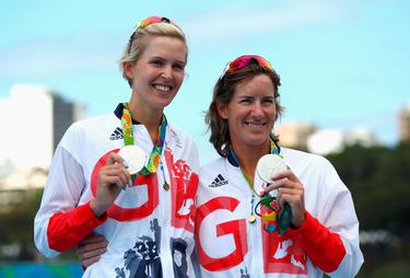 Team Gb S Katherine Grainger Becomes Most Decorated Female