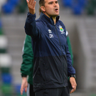 Keeping up the chase: David Healy says his Linfield side can unlock the Crusaders defence at Seaview