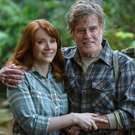 Family affair: Bryce Dallas Howard and Robert Redford in Pete's Dragon