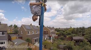 Colin Furze on his incredible 360-degree swing