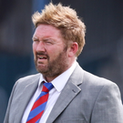 Concern: Ards boss Niall Currie is already battling an injury list