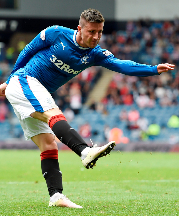 Michael O'Halloran is hoping to carve a permanent place on the Rangers' team