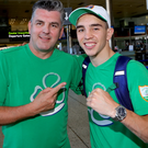 Father and son: John and Michael Conlan make a great team