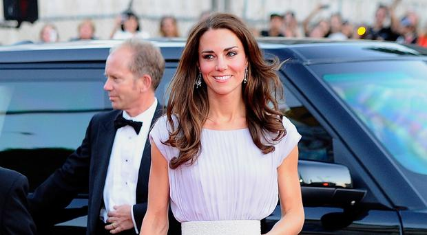 Caring: The Duchess of Cambridge. Photo by Kevork Djansezian/Getty Images