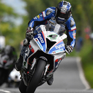 High velocity: Bingley Bullet Ian Hutchinson powers to world lap record speed
