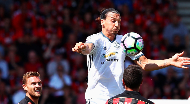 Still got it: Zlatan Ibrahimovic was on target yesterday
