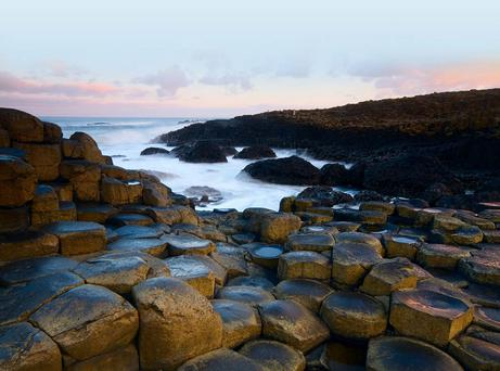 The Giant's Causeway is still proving popular with tourists from the Republic and beyond