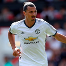 Screamer: Zlatan Ibrahimovic hit a 25-yard goal for Unitedstriker