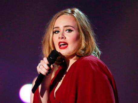 Adele: won't be singing at Super Bowl. Photo by Joel Ryan/Invision/AP, File