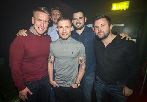 People out at El Divino for Tabu with special guest appearance by Carl Frampton. Saturday 13th August 2016. Liam McBurney/RAZORPIX