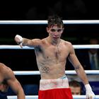 Rio 2016 Olympic Games Day 11, Riocentro Pavilion, Rio de Janeiro, Brazil 16/8/2016 Men's Bantamweight 56kg Quarter-Final Michael Conlan (Red) vs Vladimir Nikitin (Blue) Ireland's Michael Conlan in the ring after losing to Vladimir Nikitin of Russia Mandatory Credit ©INPHO/Dan Sheridan