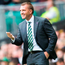 Calling the shots: Brendan Rodgers is aiming to lead Celtic back to Europe's premier stage
