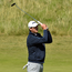 In the right direction: Colm Campbell shot a one-under 71