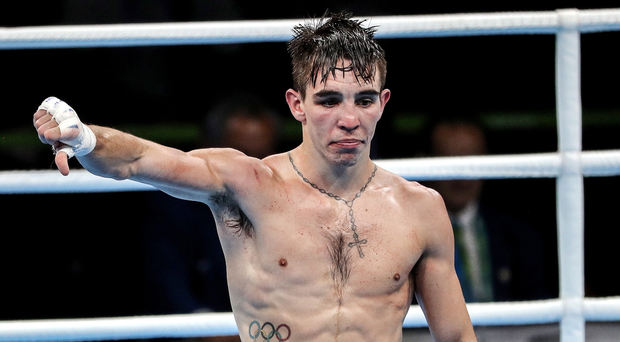 You got it wrong: Michael Conlan shows what he thinks of the judges' decision in Rio