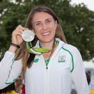 All smiles: Annalise Murphy made up for her 2012 misery